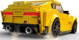 LEGO® Speed Champions Toyota GR Supra back side