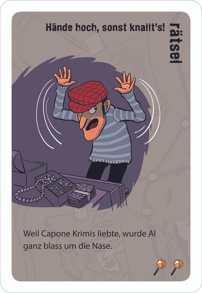 Black Stories Junior: Detective Stories cards