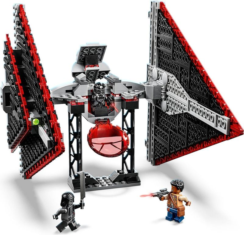 LEGO® Star Wars Sith TIE Fighter™ components