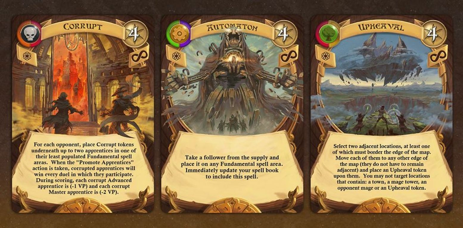 Archmage cards