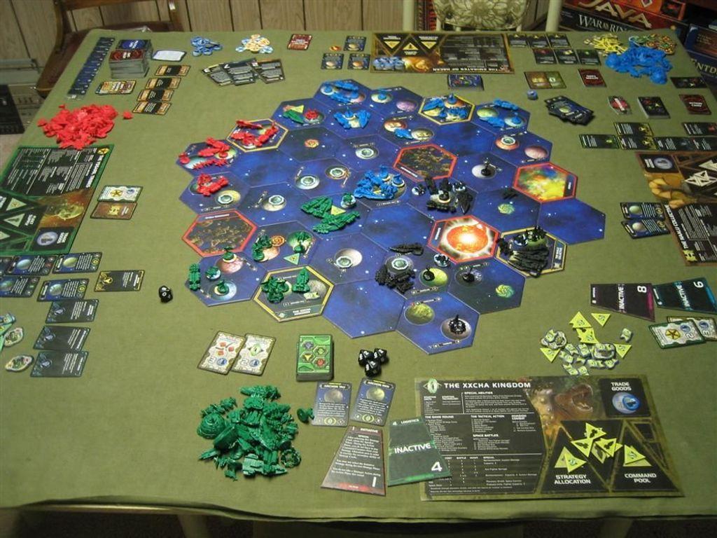 Twilight Imperium (Third Edition) gameplay