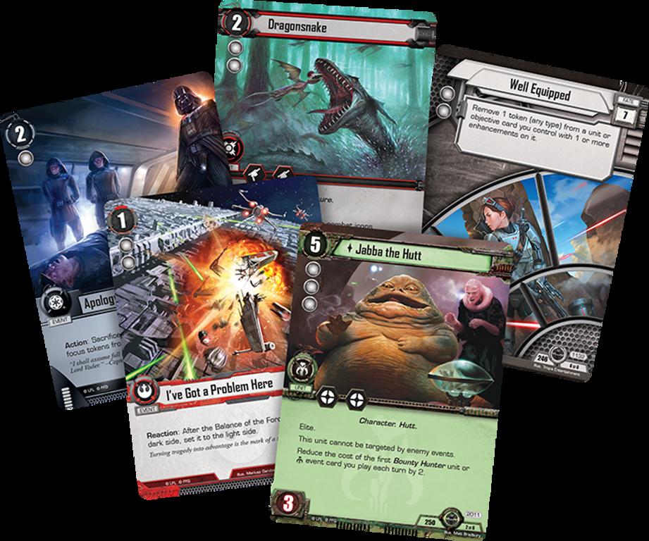 Star Wars: The Card Game - Scrap Metal cards