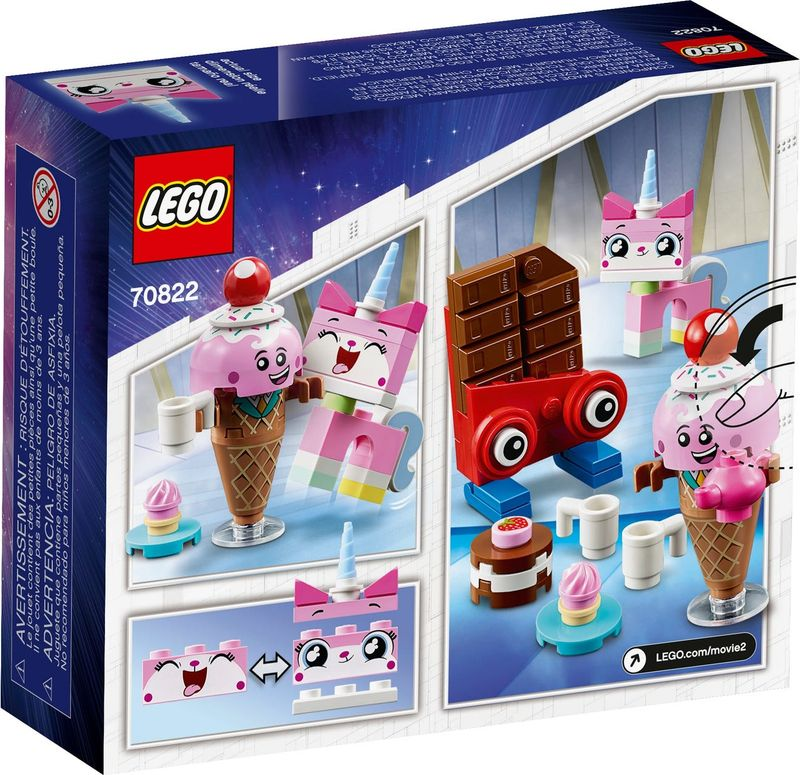 Unikitty's Sweetest Friends EVER! back of the box
