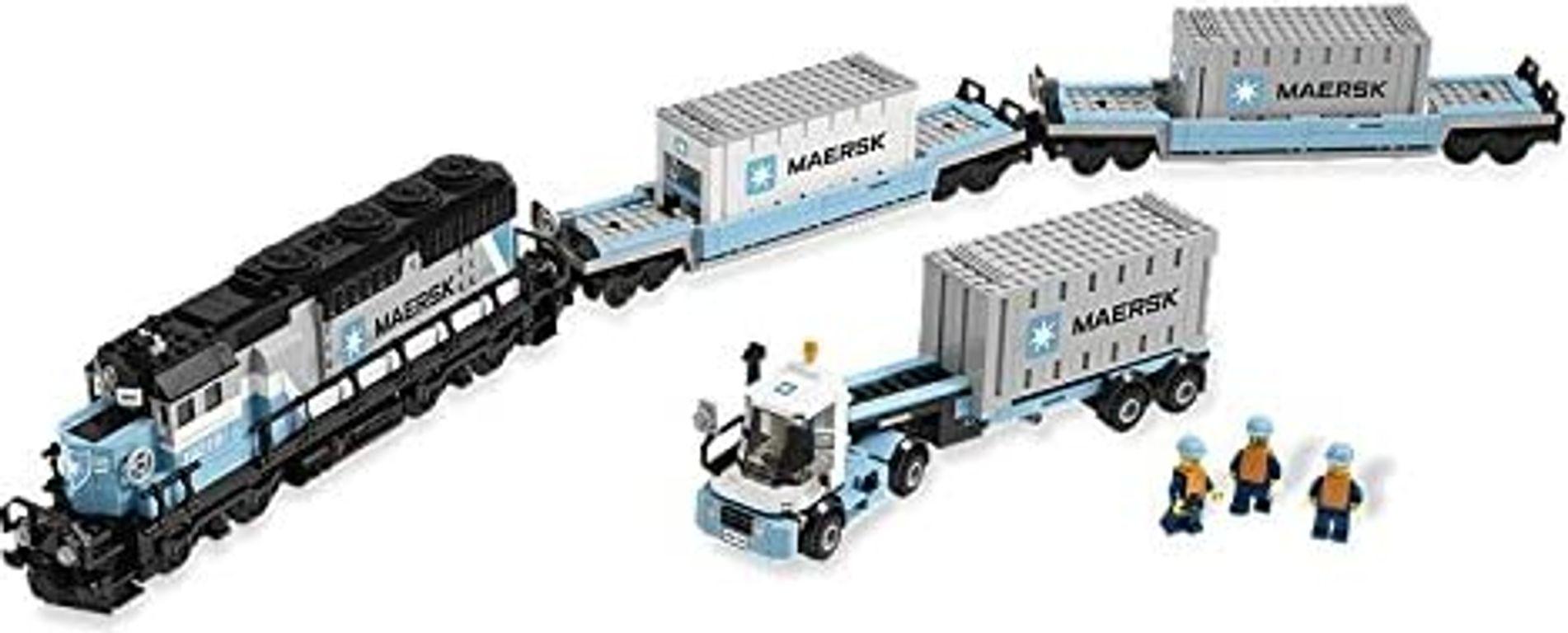Maersk Train components