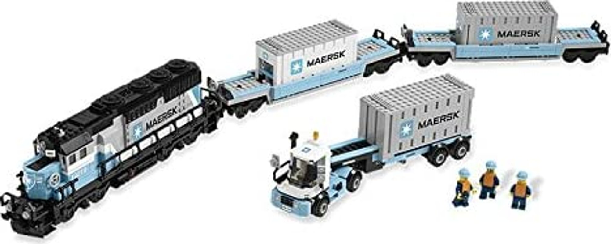 Maersk Train components