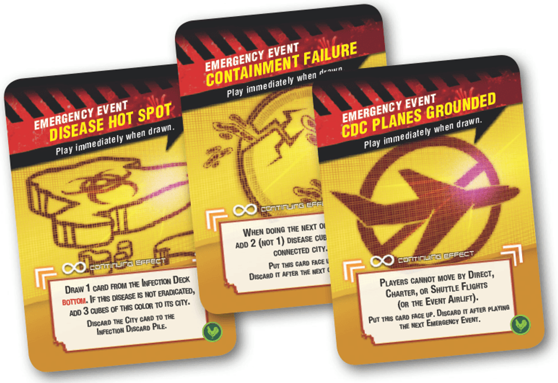 Pandemic: State of Emergency cards