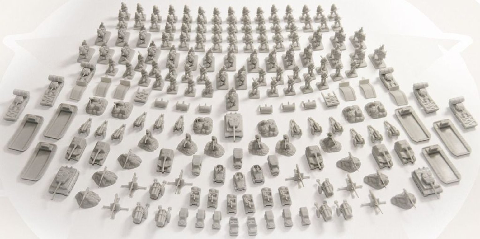 Memoir '44: Equipment Pack components