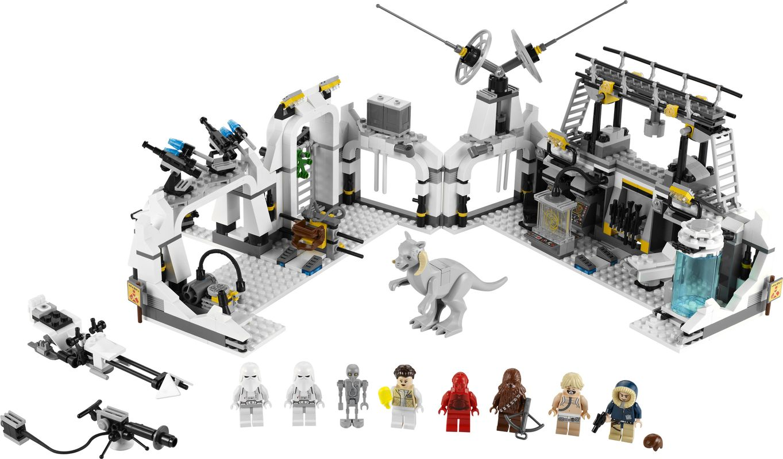 Hoth Echo Base components