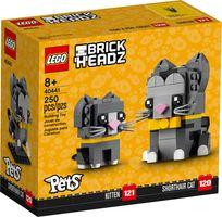 LEGO® BrickHeadz™ Shorthair Cats