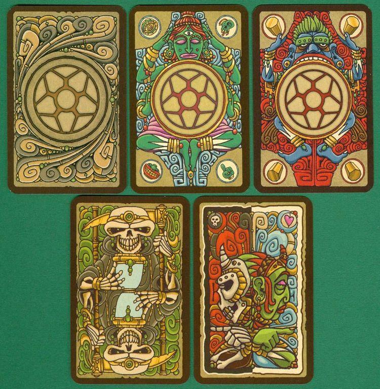 The 3 Commandments cards