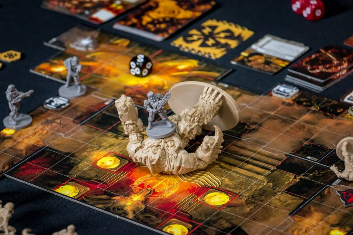 DOOM: The Board Game gameplay