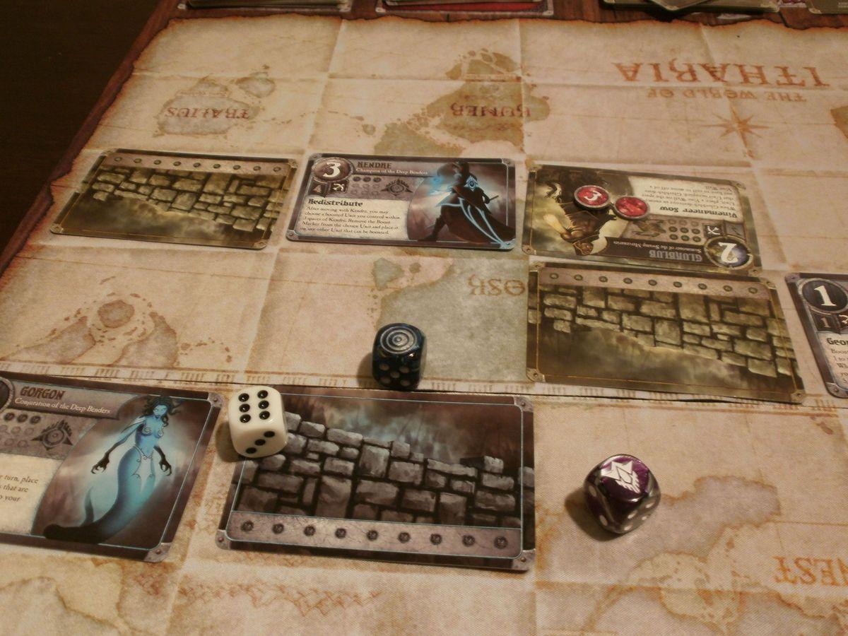 Summoner Wars: Alliances Master Set gameplay