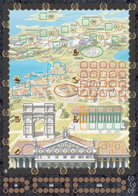 Trajan game board