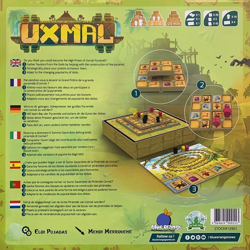 Uxmal back of the box