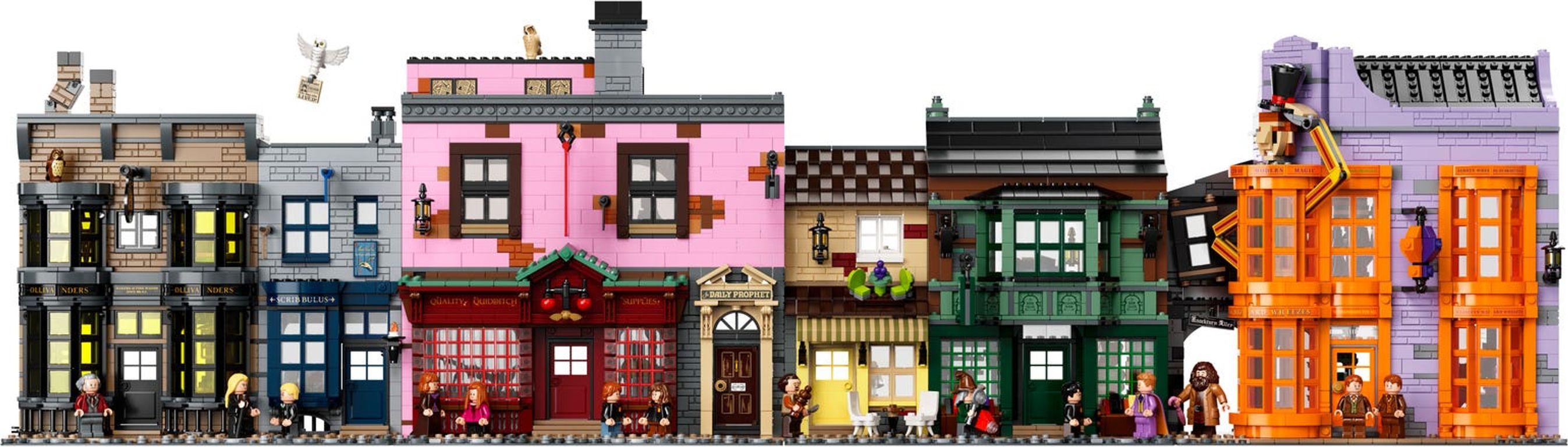 LEGO® Harry Potter™ Diagon Alley™ building