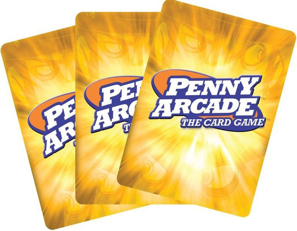 Penny Arcade: The Card Game cards