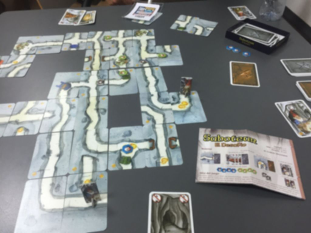 Saboteur The Duel gameplay
