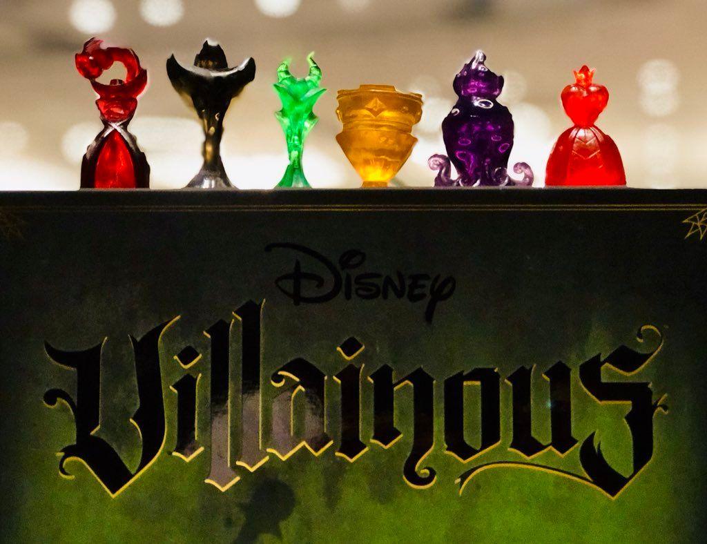 Disney Villainous components