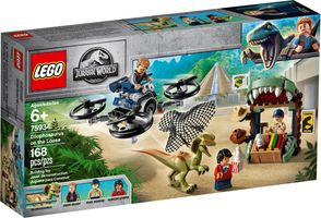 LEGO® Jurassic World Dilophosaurus on the Loose