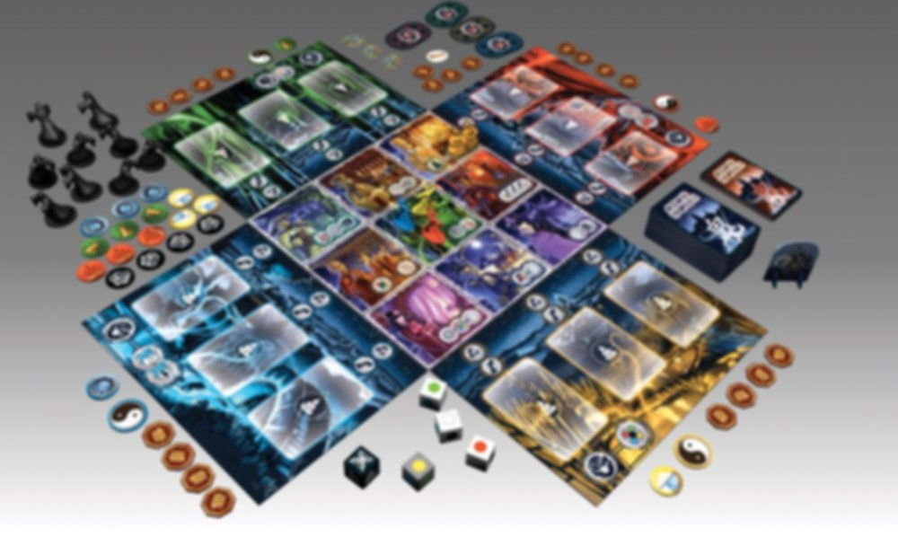 Ghost Stories components