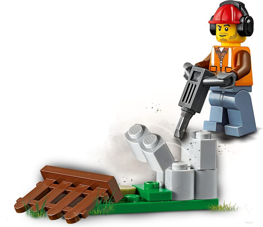 Construction Loader minifigures