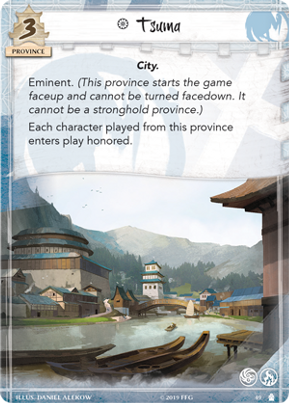 Legend of the Five Rings: In Pursuit of Truth Tsuma card