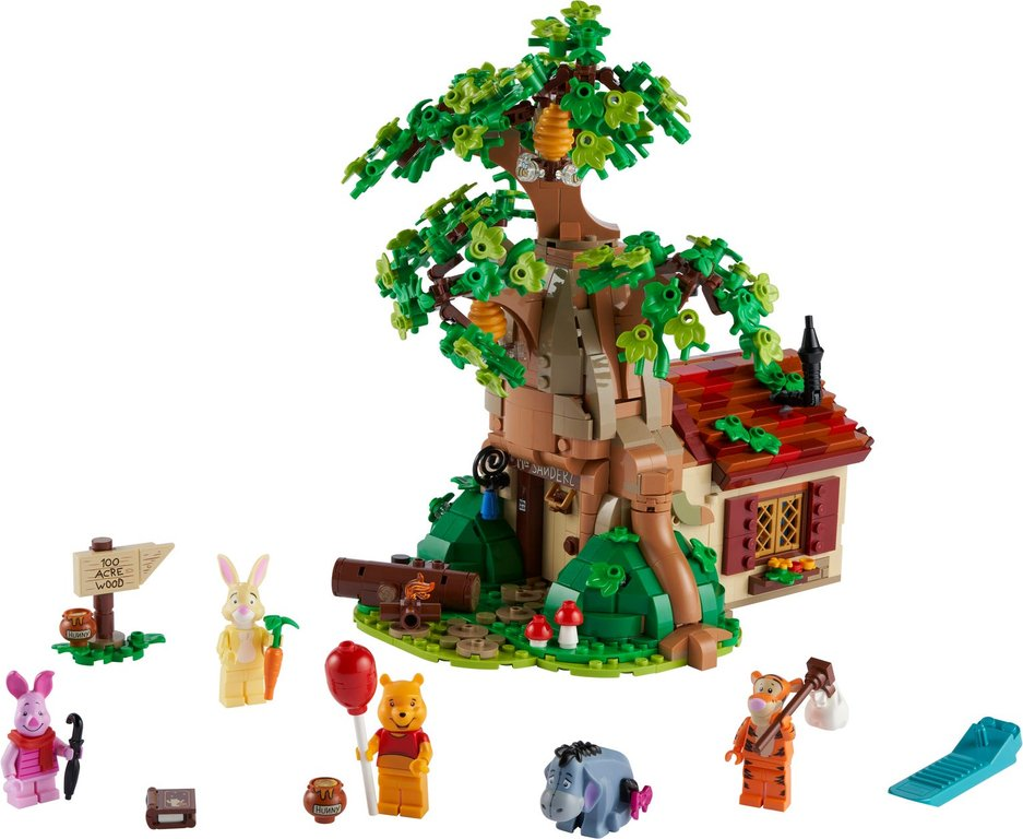 LEGO® Ideas Winnie the Pooh components