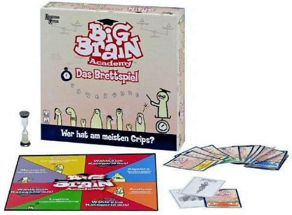 Big Brain Academy Boardgame components
