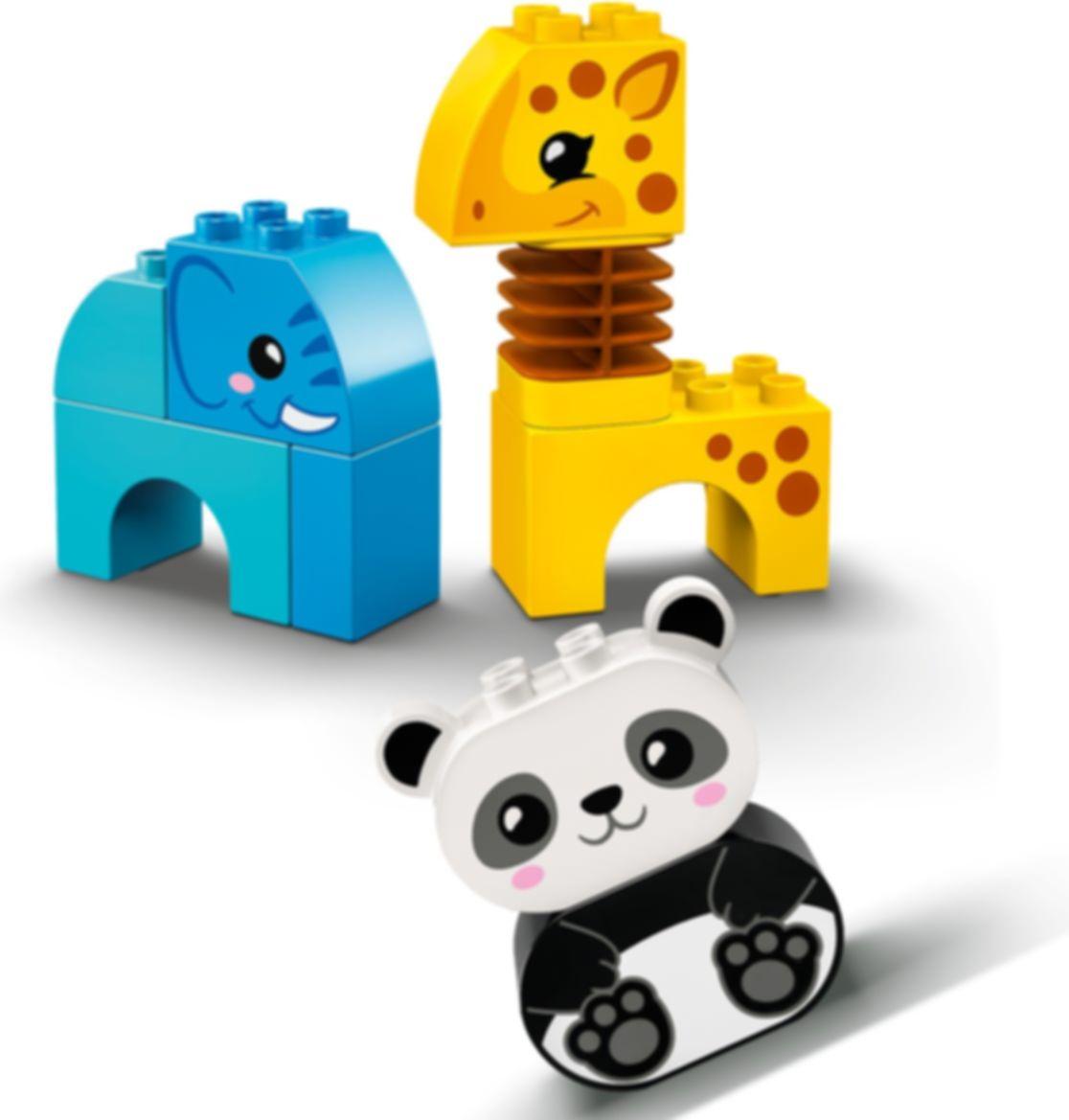 LEGO® DUPLO® Animal Train components