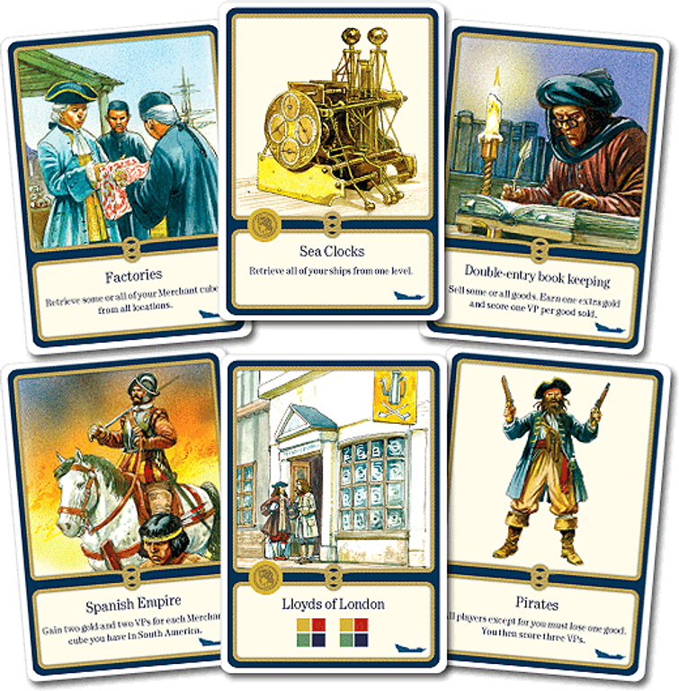 Ships cards