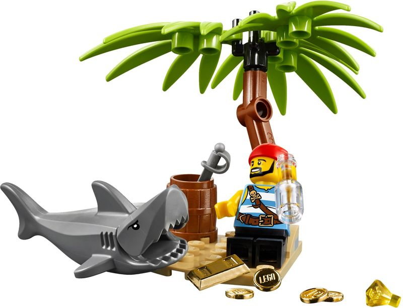 LEGO® Classic Pirates Set components