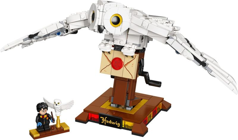 LEGO® Harry Potter Hedwig™ components