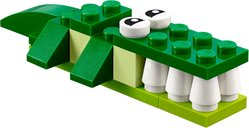 LEGO® Classic Green Creativity Box components