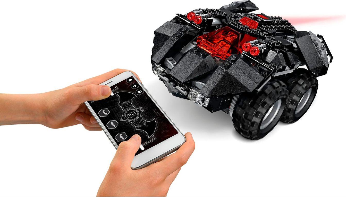 LEGO® DC Superheroes App-Controlled Batmobile gameplay