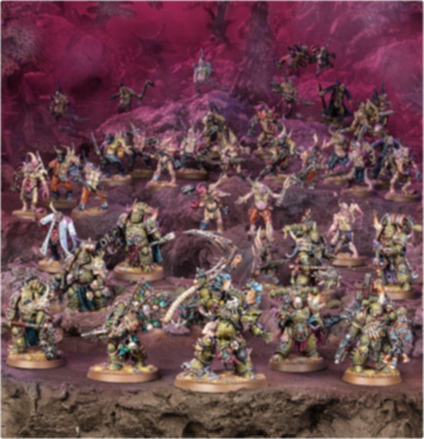 Warhammer 40.000 Combat Patrol: Death Guard miniatures