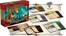 Runebound (Third Edition): Fall of the Dark Star - Scenario Pack components