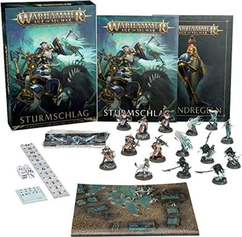 Warhammer Age of Sigmar: Storm Strike components