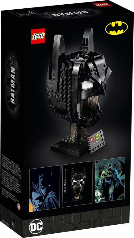 LEGO® DC Superheroes Batman™ Cowl back of the box