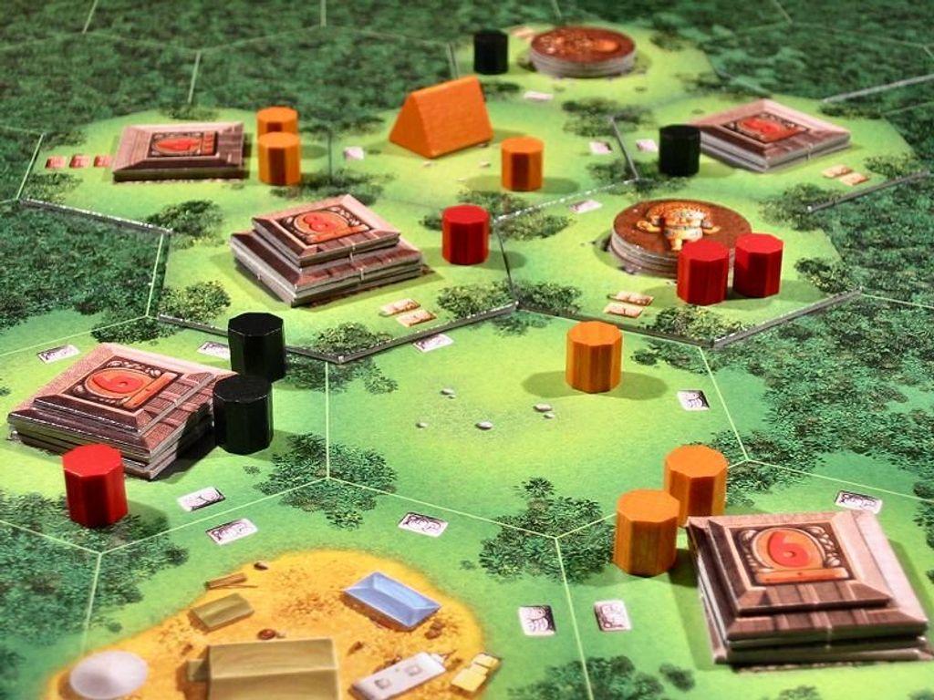 Tikal components