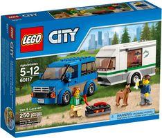 LEGO® City Van & Caravan