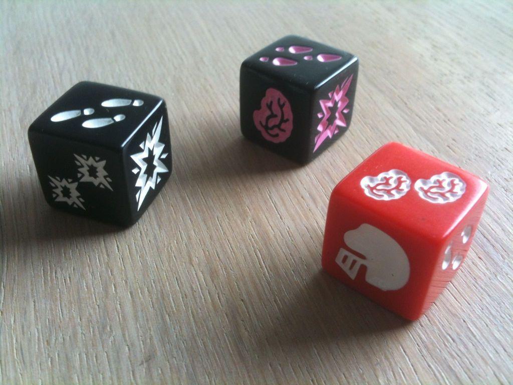Zombie Dice 2 Double Feature dice