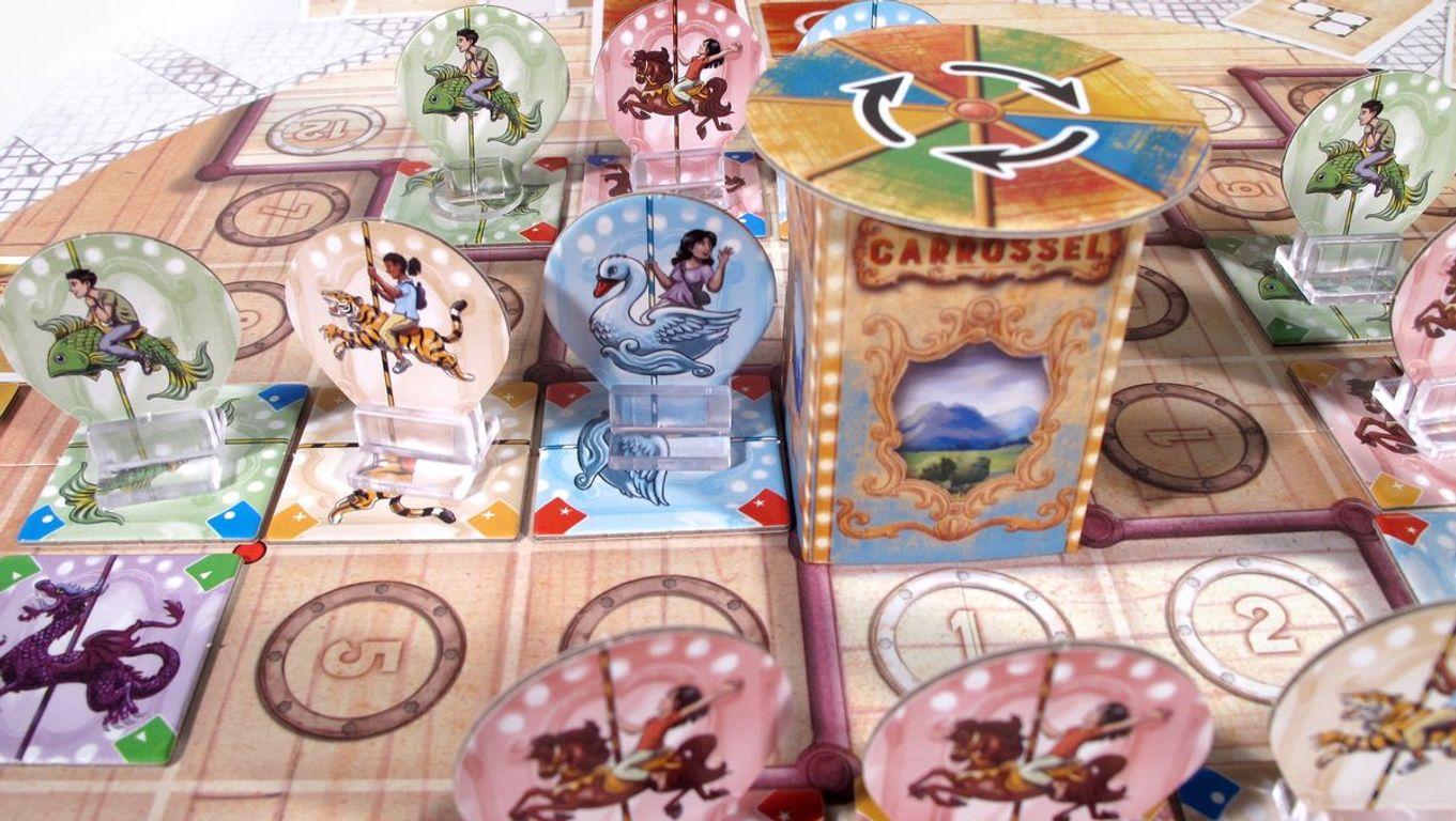 Carrossel gameplay
