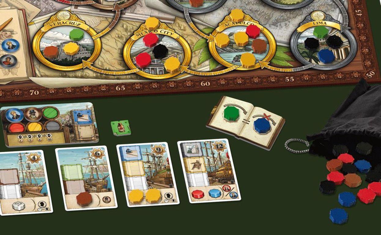 Humboldt's Great Voyage components