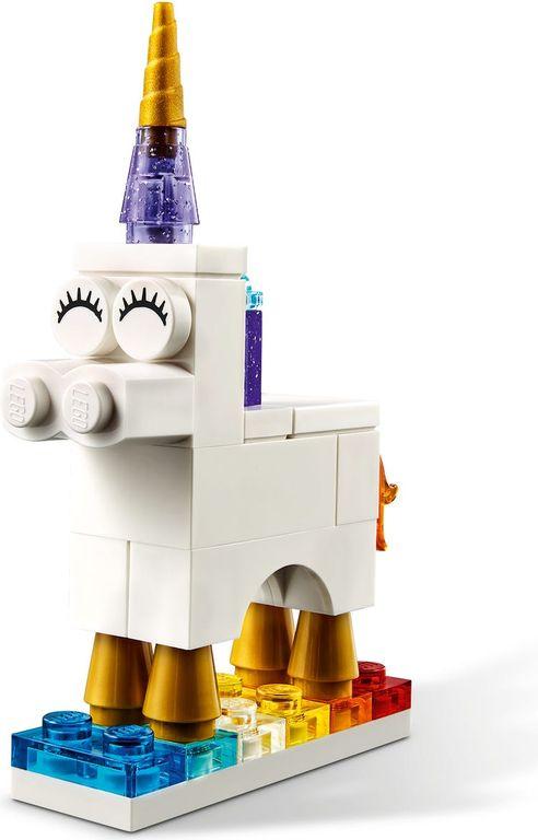 LEGO® Classic Creative Transparent Bricks components
