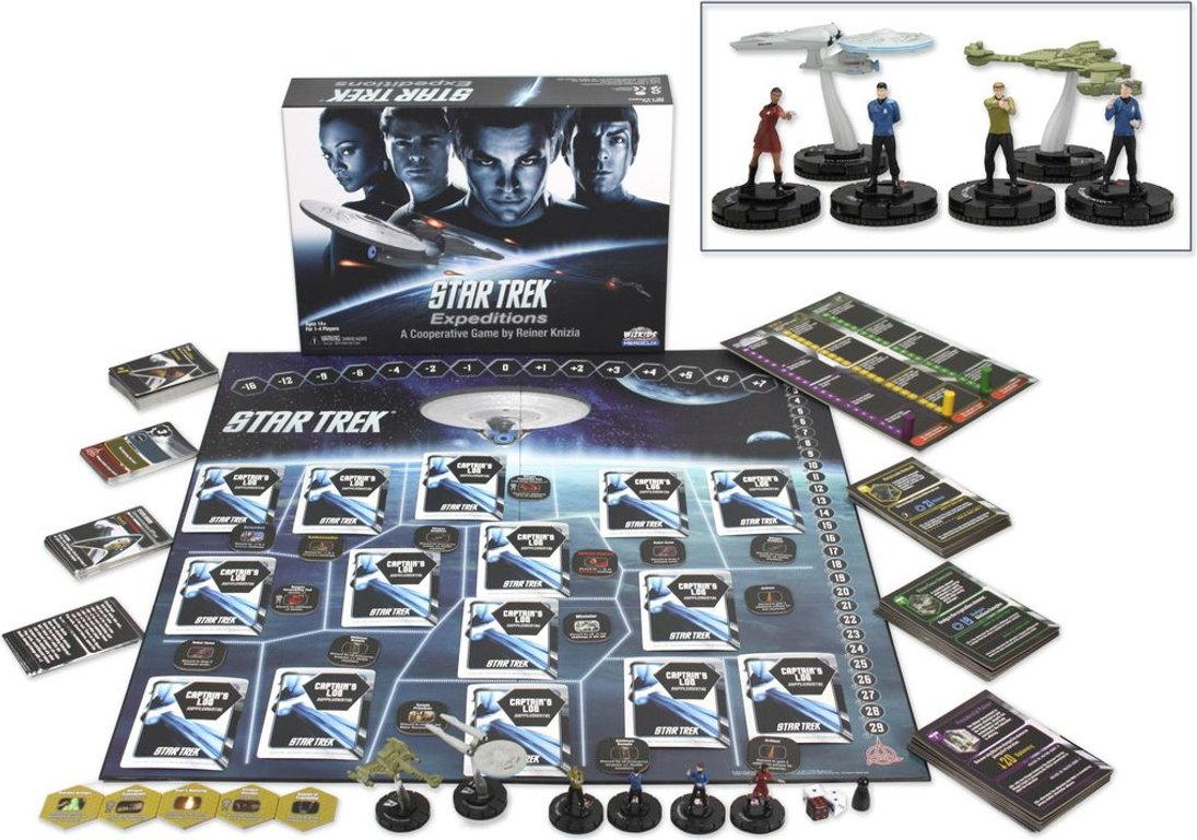 Star Trek: Expeditions components