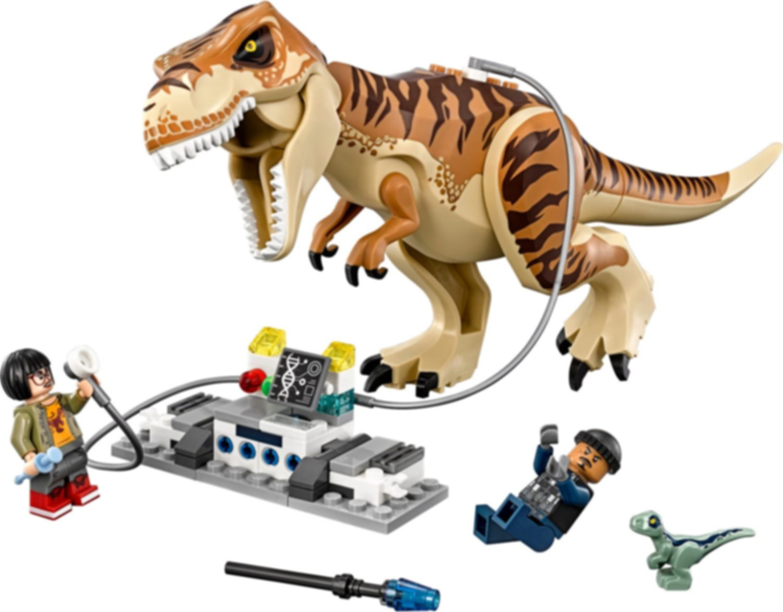 T. rex Transport gameplay