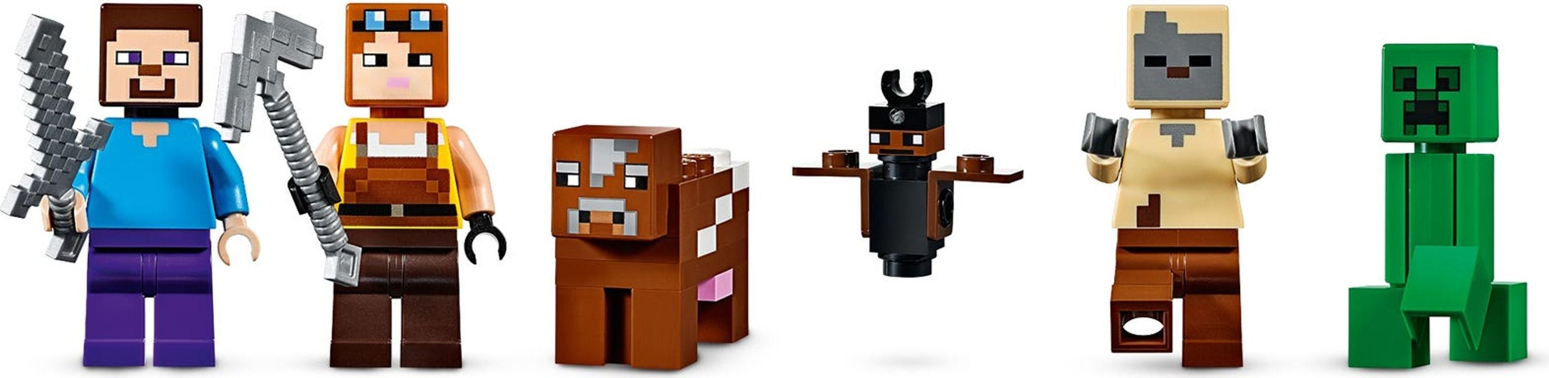 LEGO® Minecraft The Creeper™ Mine minifigures