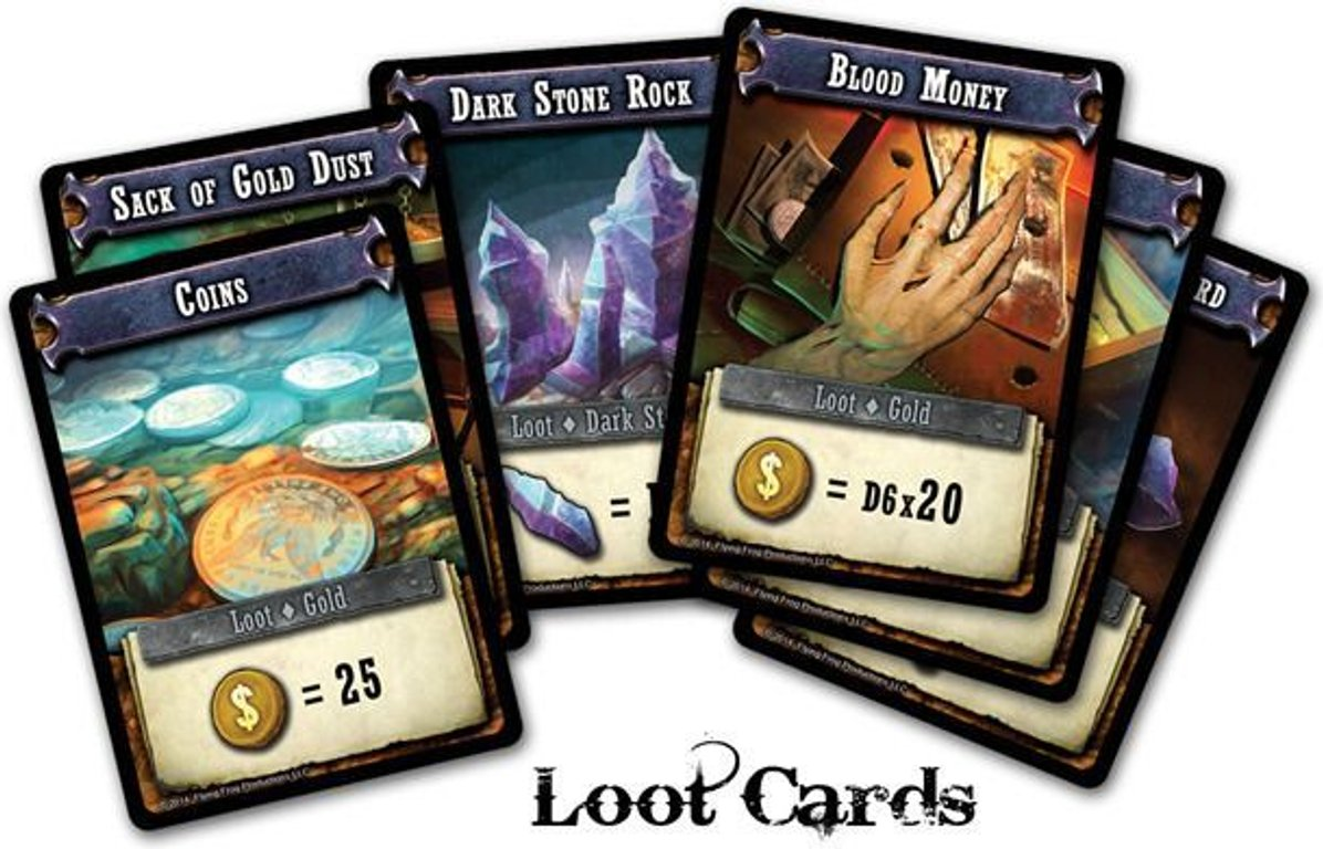 Shadows of Brimstone: City of the Ancients cards