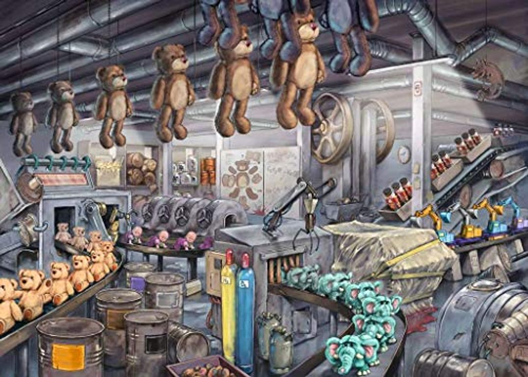 In the toy factory