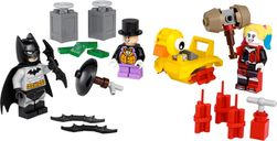 LEGO® DC Superheroes Batman™ vs. The Penguin™ & Harley Quinn™ components